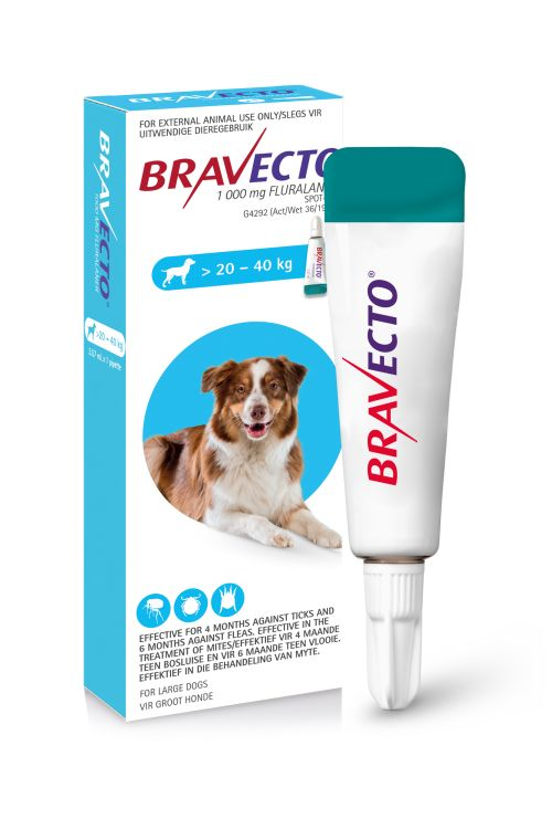 BRAVECTO Spot-On For Large Dogs 20 – 40kg