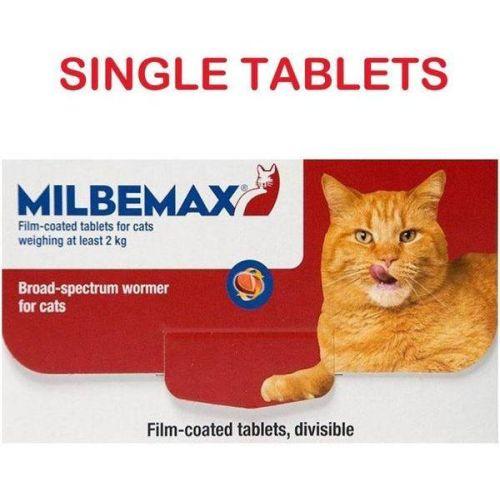 Milbemax Adult Cat 4-8kg Per Tablet