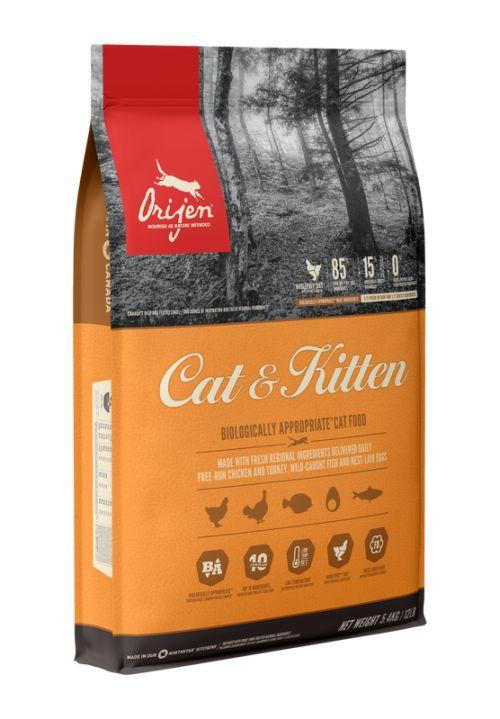 Orijen Cat & Kitten Cat Food – 1,8KG
