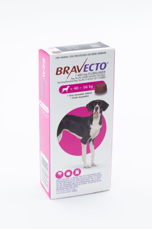 BRAVECTO Chew Extra Large Dog 40-56KG