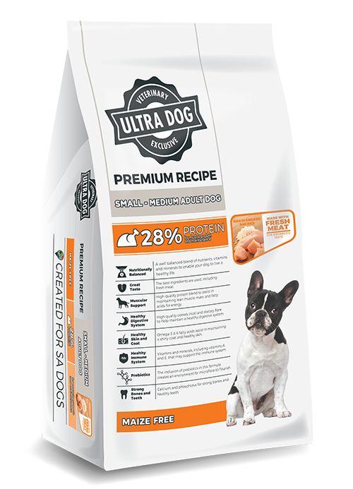 Ultra Dog Premium Small- Med Adult 8kg