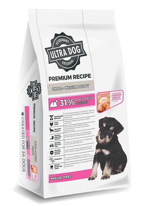 Ultra Dog Premium Puppy Small- Med 3kg