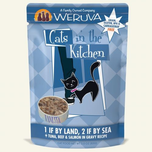 Weruva 1 If By Land, 2 If By Sea Pouch – 85g