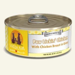 Weruva Paw Lickin' Chicken Can For Dogs – 156g