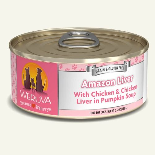 Weruva Amazon Liver Can For Dogs – 156g