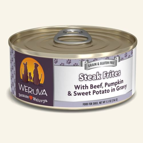 Weruva Steak Frites Can For Dogs – 156g