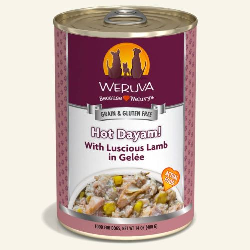 Weruva Hot Dayam! Can For Dogs – 400g