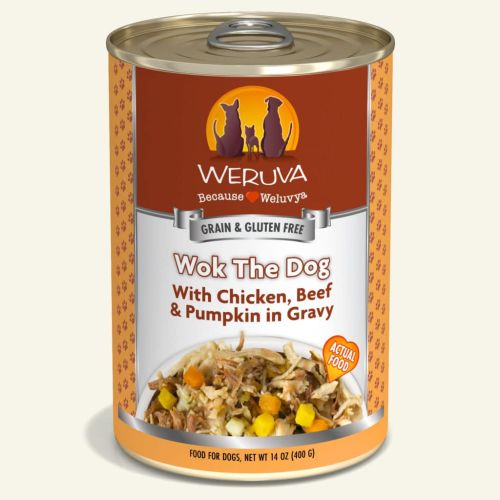 Weruva Wok The Dog Can For Dogs – 400g