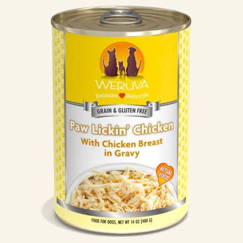 Weruva Paw Lickin' Chicken Can For Dogs – 400g