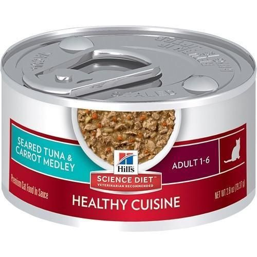 Hill's Science Plan Feline Adult Wet Tuna & Carrot (79g)
