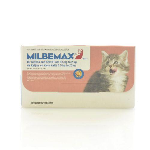 Milbemax Kitten Under 2kg Per Tablet