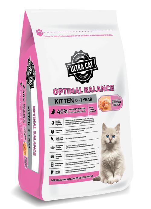 Ultra Cat Optimal Balance Kitten – 2kg