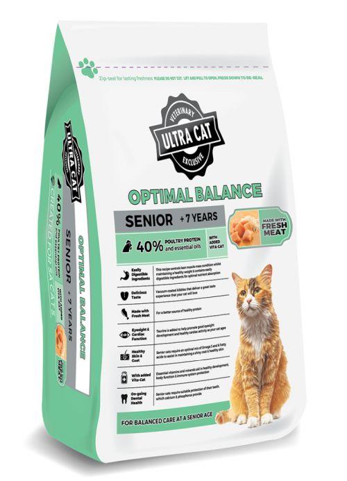 Ultra Cat Optimal Balance Senior – 2kg